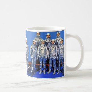 MERCURY 7 astronauts Coffee Mug