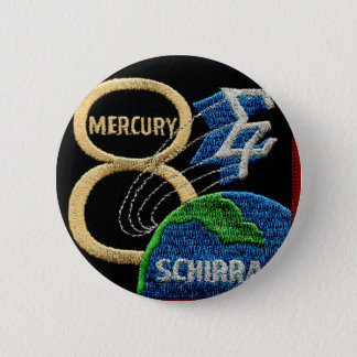 Mercury 8: Sigma 7 – Wally Schirra 2 Inch Round Button