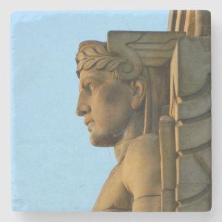 Mercury (Bridge Guard,Cleveland OH) Stone Coaster