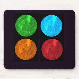 Mercury Collage Mouse Pad