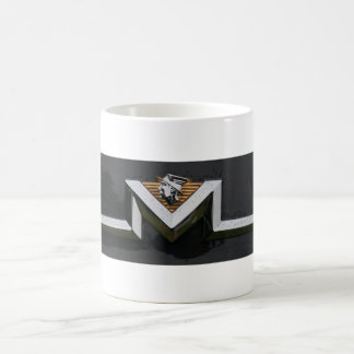 Mercury Logo on White Coffee Mug