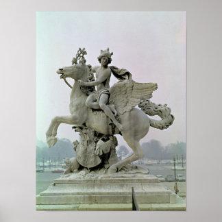 Mercury on Pegasus  1701-02 Poster