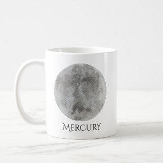 Mercury Planet Watercolor Mug