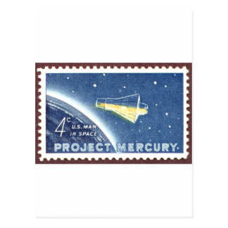 Mercury Project Postcard
