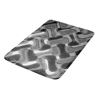 Mercury & Sable Bath Mat by C.L. Brown