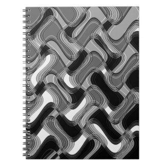 Mercury & Sable Notebook by Artist C.L. Brown