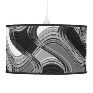 Mercury & Sable Pendant Lamp by C.L. Brown