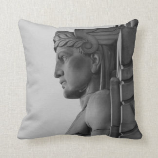 Mercury Statue (Cleveland Ohio) Pillow