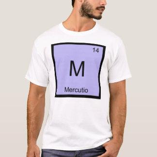 Mercutio Name Chemistry Element Periodic Table T-Shirt