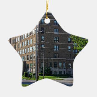 Mercy College Ceramic Star Ornament