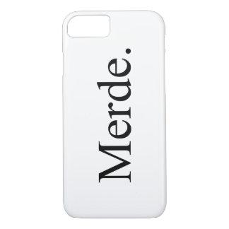 Merde iPhone 7 phone case for ballet dancers