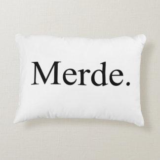 Merde pillow for ballet dancers - good luck