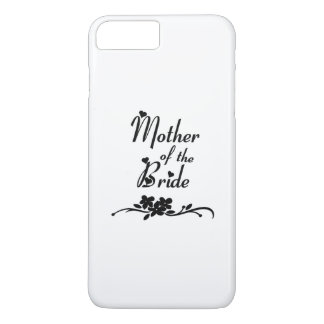Mère de mariages de la jeune mariée coque iPhone 7 plus