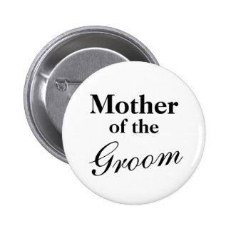 Mère élégante des boutons de marié macaron rond 5 cm