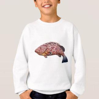 Mere, fish garopa, chernia sweatshirt