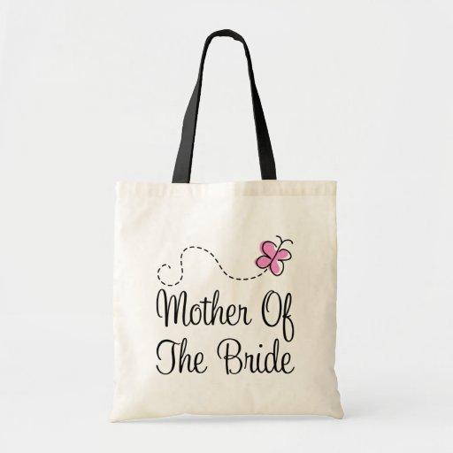 Mère rose mignonne du sac fourre-tout à cadeau de