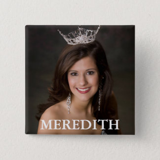 MEREDITH 2 INCH SQUARE BUTTON