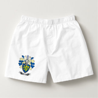 Meredith Family Crest Coat of Arms Boxers