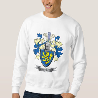 Meredith Family Crest Coat of Arms Sweatshirt