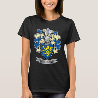 Meredith Family Crest Coat of Arms T-Shirt