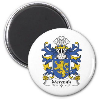Meredith Family Crest Magnet