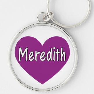 Meredith Keychain