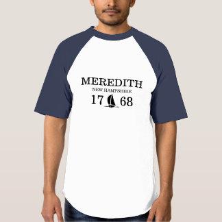 Meredith New Hampshire 1768 Sailing Custom T-shirt