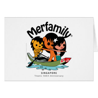 "MERFAMILY® Singapore ""Titanic Keepsake"" Greeting Card"