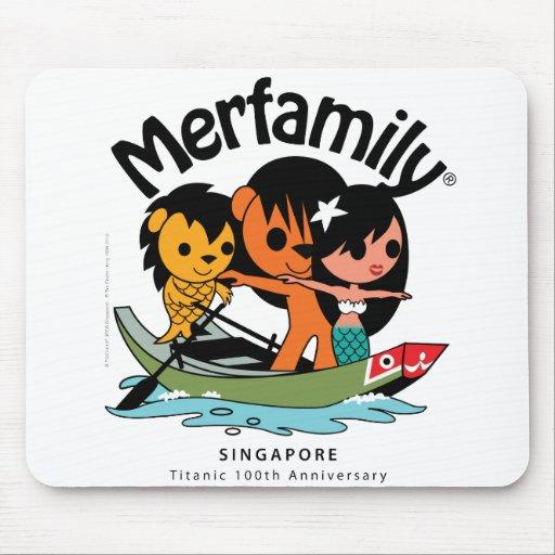 "MERFAMILY® Singapore ""Titanic Keepsake"" Mouse Pads"