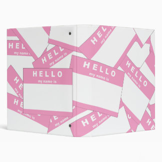 Merhaba Ivory (Pink) Binder