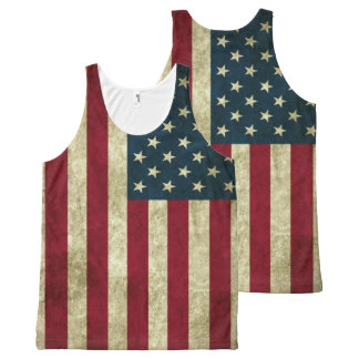 'merica All-Over-Print tank top