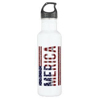 MERICA - American Pride Slang USA Flag
