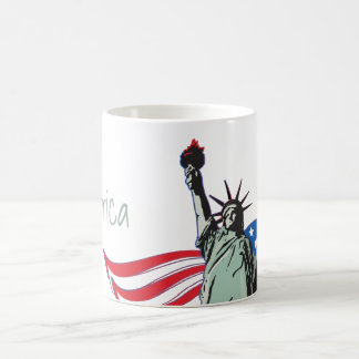 'Merica and Statue of Liberty Coffee Mug