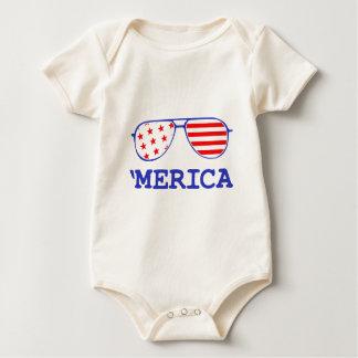 'Merica Baby Bodysuit