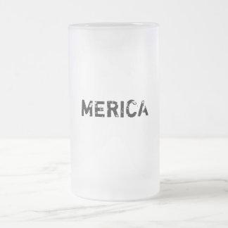 MERICA BEER MUG