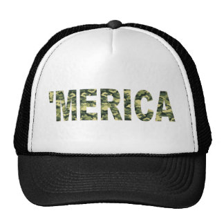 'MERICA Camo Trucker Hat