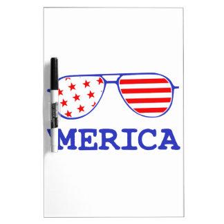 'Merica Dry Erase White Board