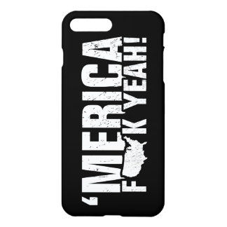 'Merica Fck Yeah! Patriotic American iPhone 8 Plus/7 Plus Case