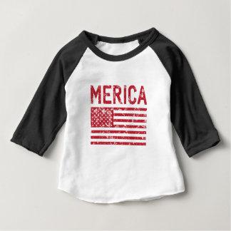 Merica Flag Baby T-Shirt