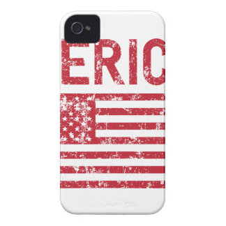 Merica Flag iPhone 4 Covers
