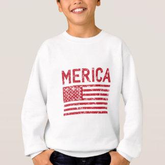 Merica Flag Sweatshirt