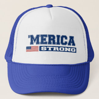 'MERICA STRONG Hat (blue)