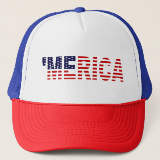 'MERICA U.S. Flag Trucker Hat