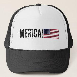 'Merica USA  Flag Hat