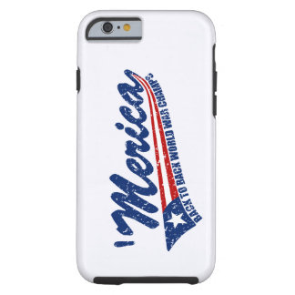MERICA World War Champs Distressed iPhone 6 case Tough iPhone 6 Case