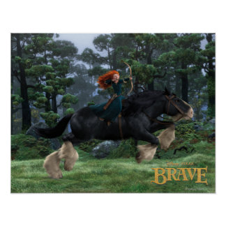 Merida and Angus 2 Poster