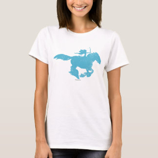 Merida and Angus Silhouette T-Shirt