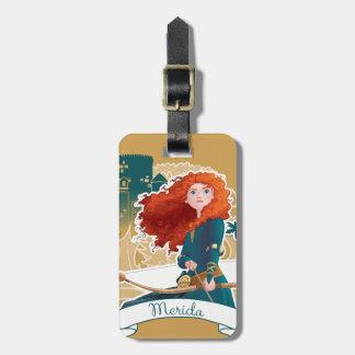 Merida - Brave Princess Luggage Tag