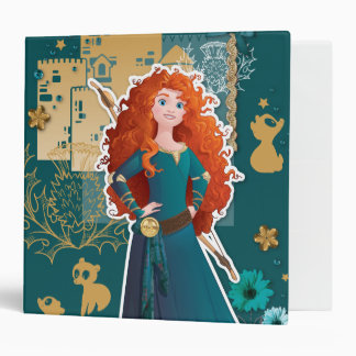 Merida - Confidence Makes Me Brave 3 Ring Binders