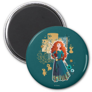 Merida - Confidence Makes Me Brave Refrigerator Magnet